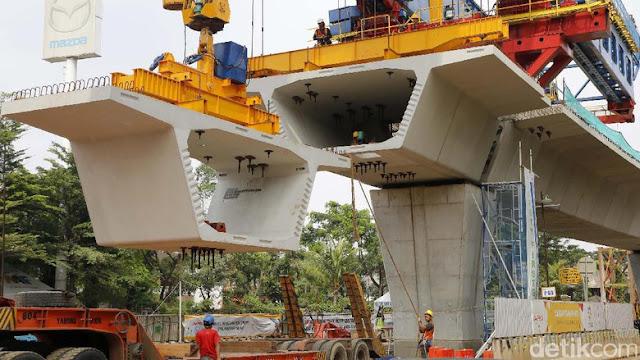 Kemahalan, Biaya Proyek LRT Warisan Ahok Telan RP 6.8 Triliun, Pemprov: Perlu Diaudit