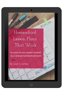 Homeschool lesson planning help