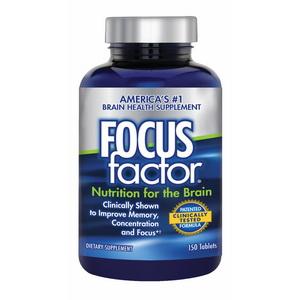 Viên uống bổ não, tăng cường trí nhớ, giảm stress- Focus Factor của Mỹ