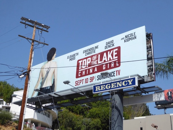 Top of the Lake China Girl billboard