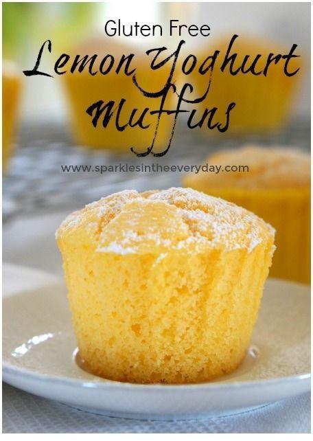 Fluffy Lemon And Yoghurt Muffins