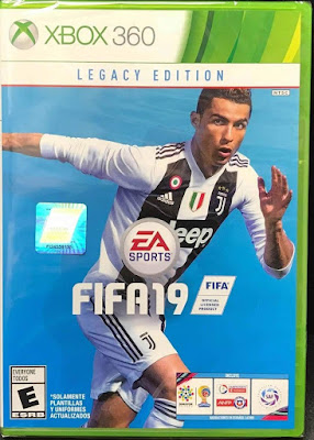 Fifa 19 Game Cover Xbox 360 Legacy Edition