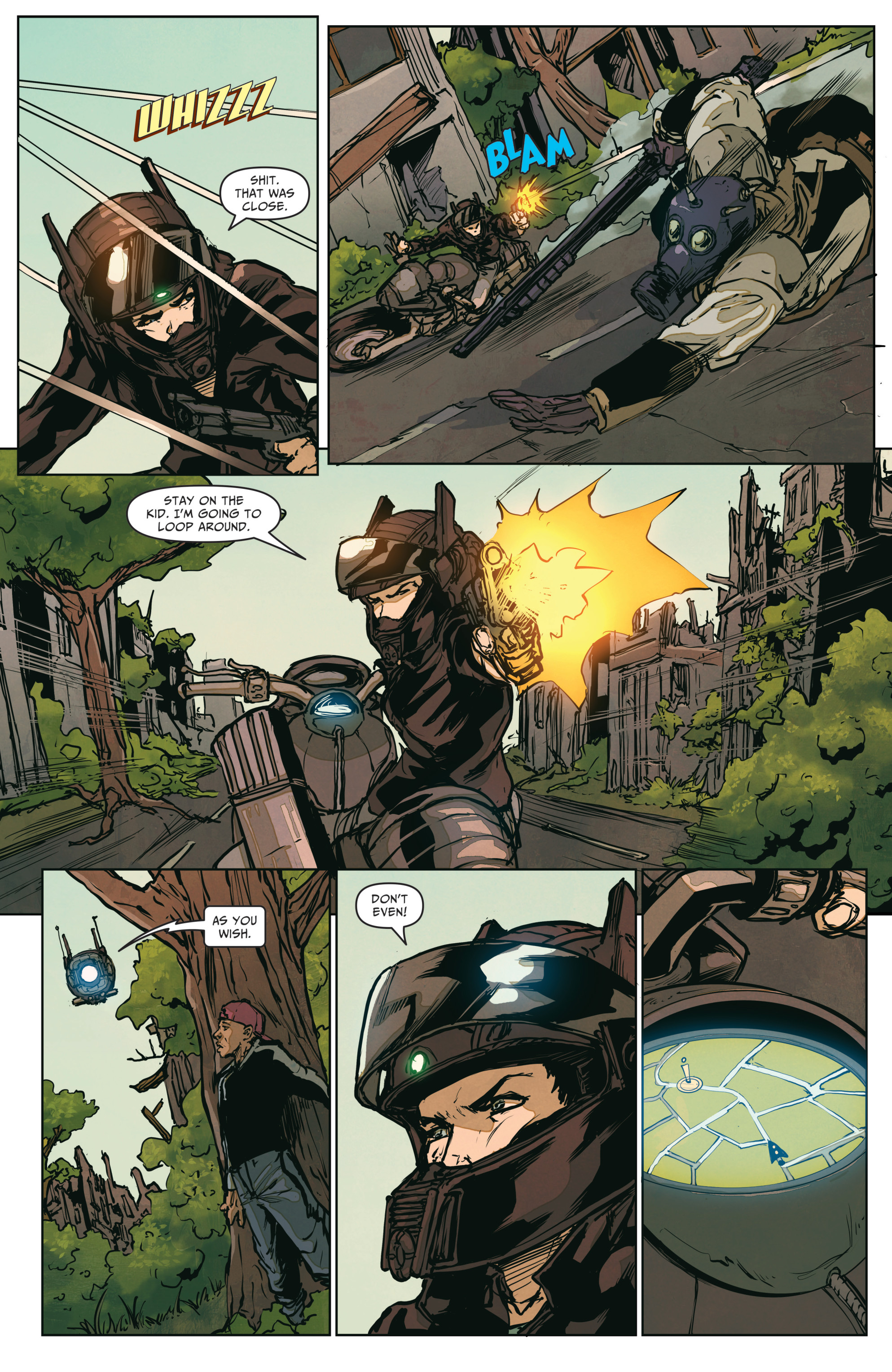 Read online The Courier: From the Ashes comic -  Issue #3 - 19