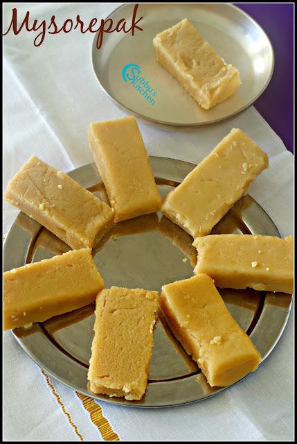 Krishna Sweets style Mysorepak