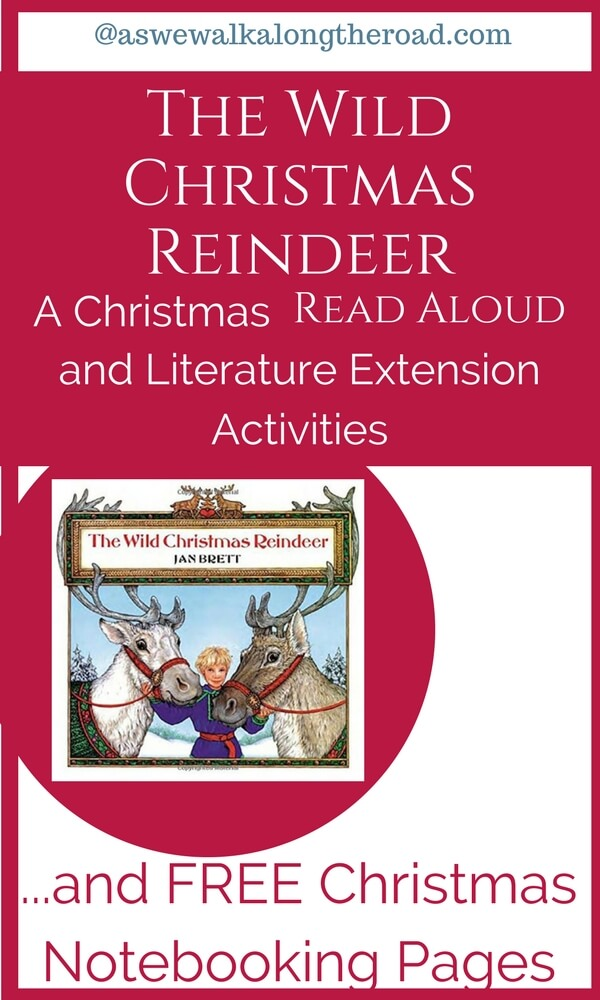 Literature extension activities for The Wild Christmas Reindeer