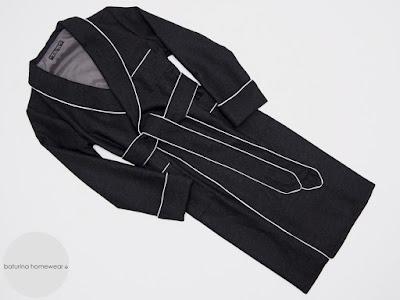 mens black wool dressing gown warm long english luxury robes elegant gentleman bathrobe floor length big size