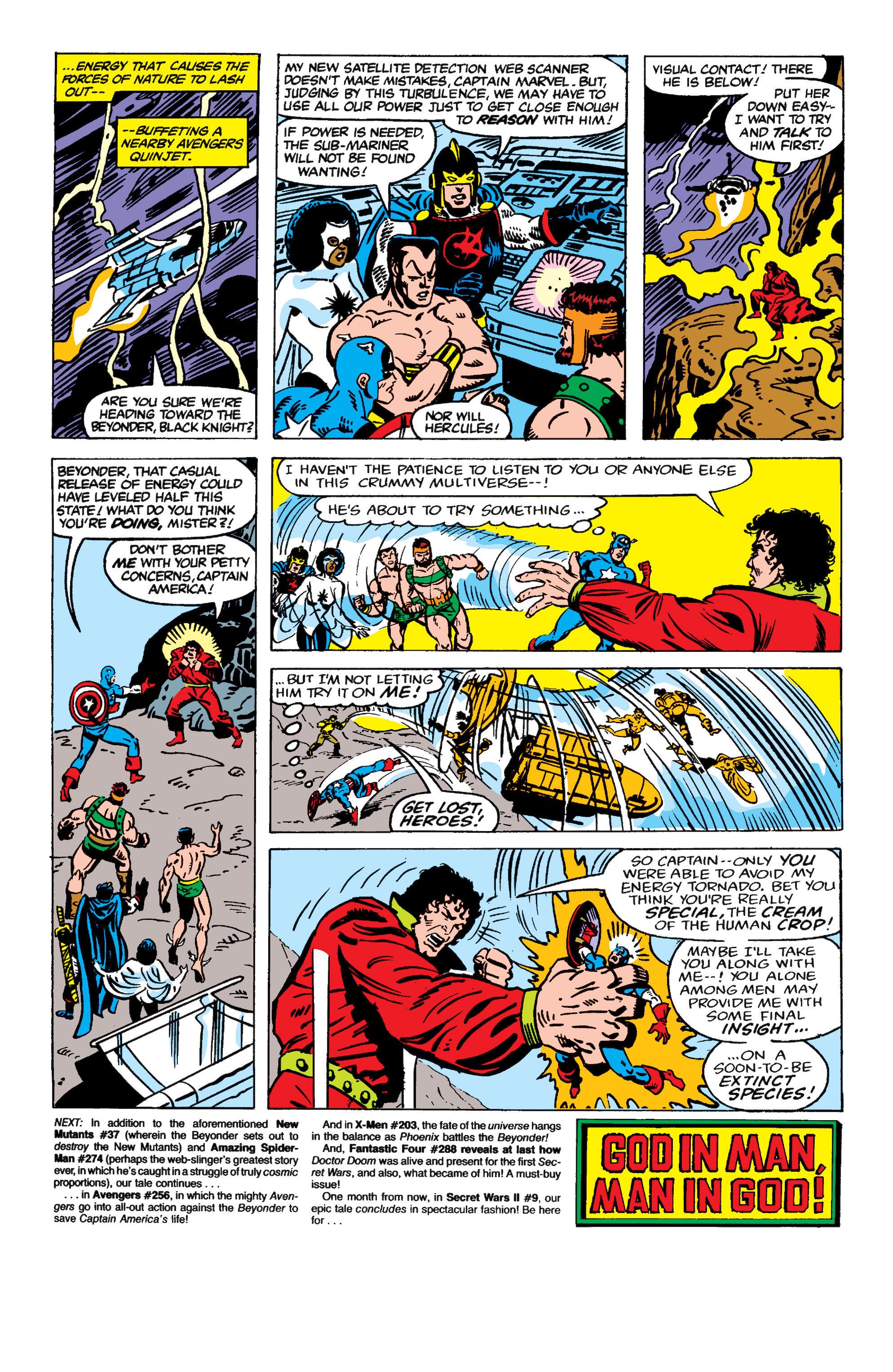 Read online Secret Wars II comic -  Issue #8 - 28