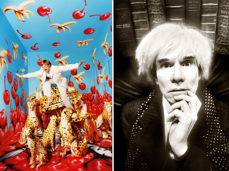 david lachapelle elton john andy warhol