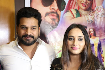 Ritesh Pandey and Rani Chatterji