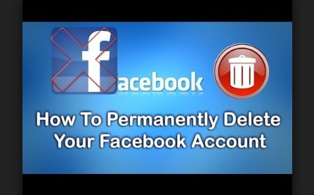 Delete facebook account how