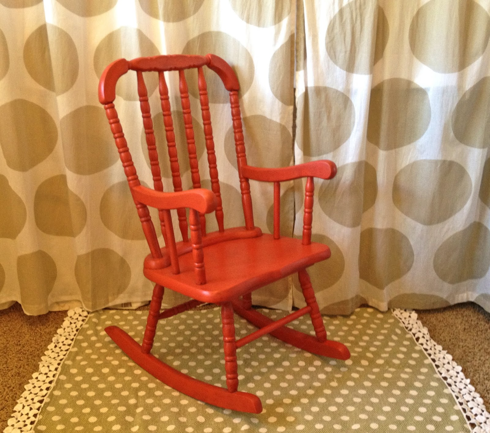 Prime Little Red Rocking Chair Part 2 Ivy Co Ncnpc Chair Design For Home Ncnpcorg