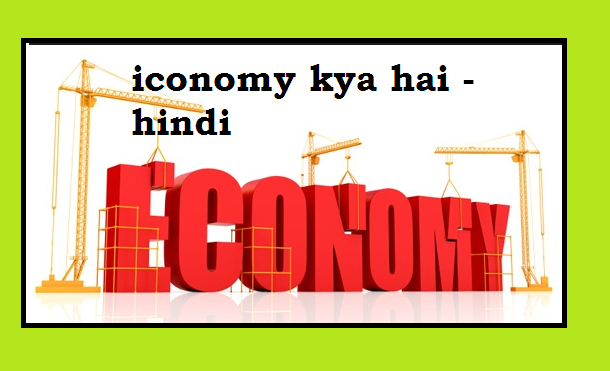 iconomy kya hai - hindi