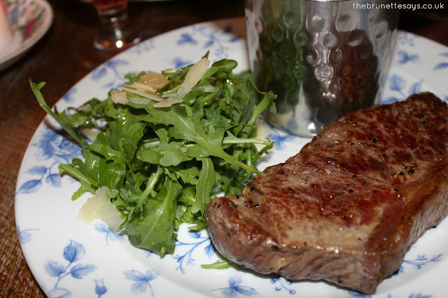 cosy club, food, drink, sirloin steak, review