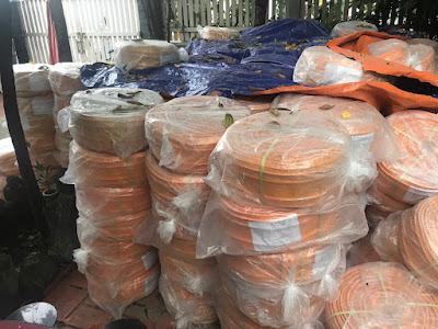 Băng cản nước Waterstop PVC loại O 11