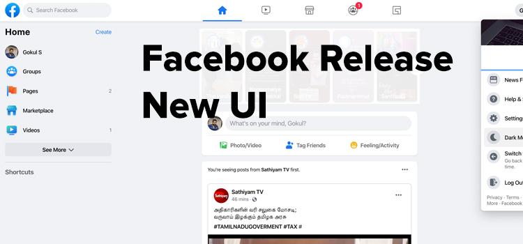 Facebook New Desing 2020