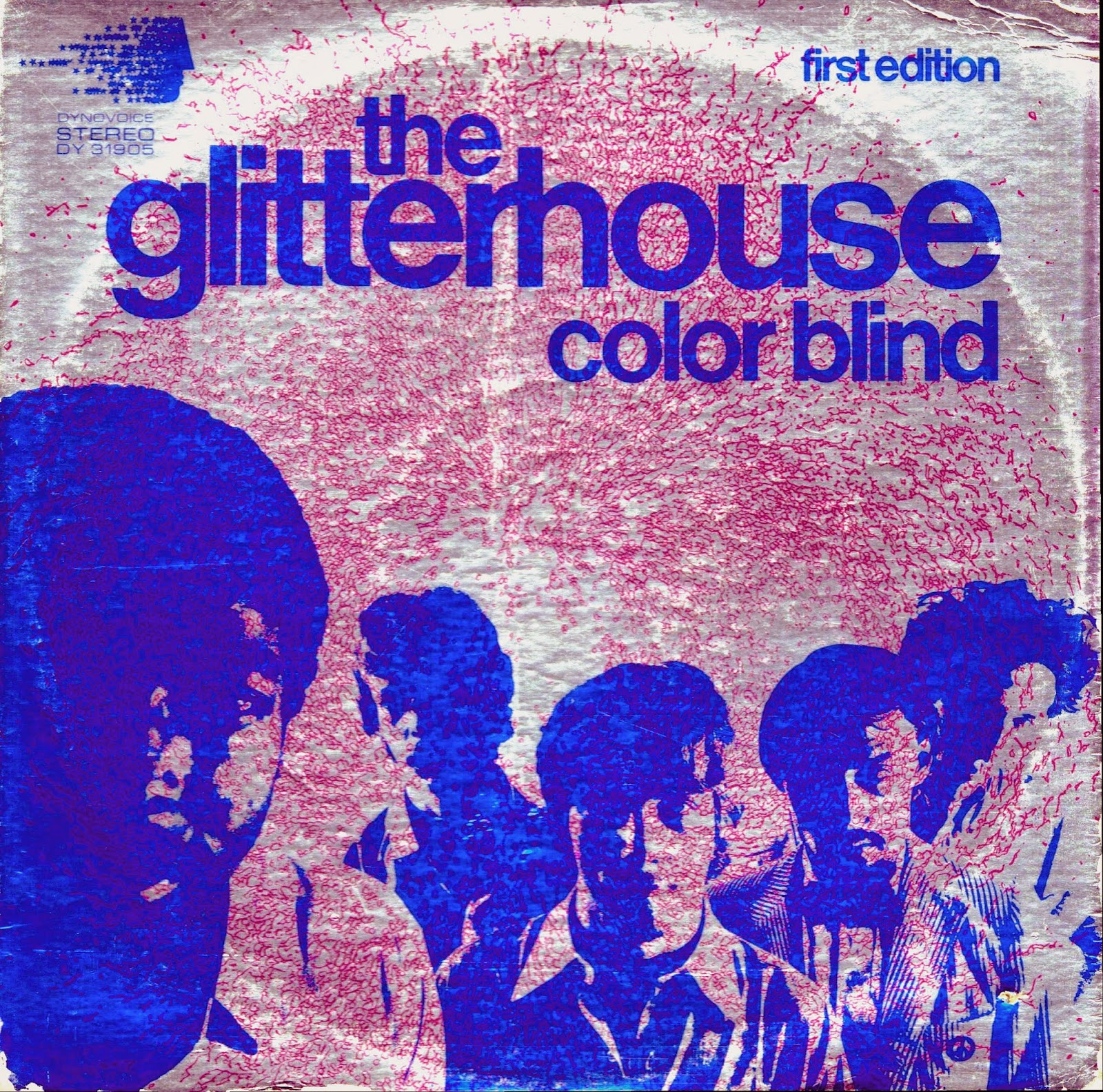 Vinyl Shipwreck The Glitterhouse Color Blind 1968