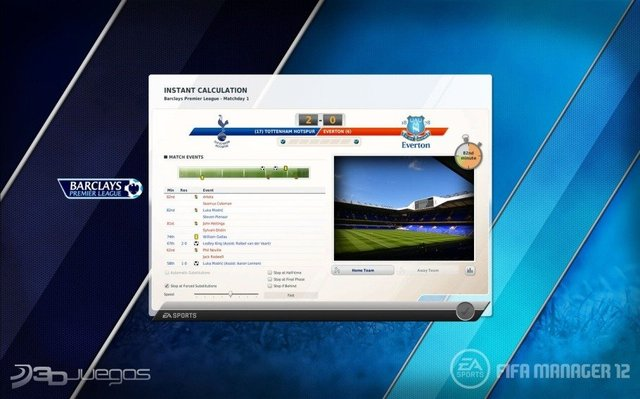 Capturas Fifa 12 PC Manager 2012