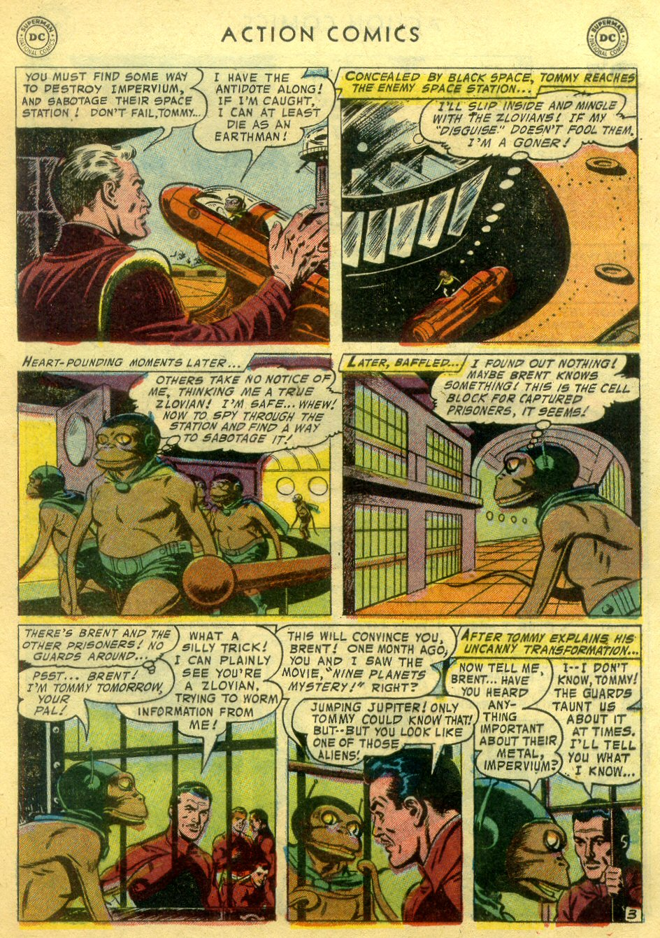 Read online Action Comics (1938) comic -  Issue #222 - 28