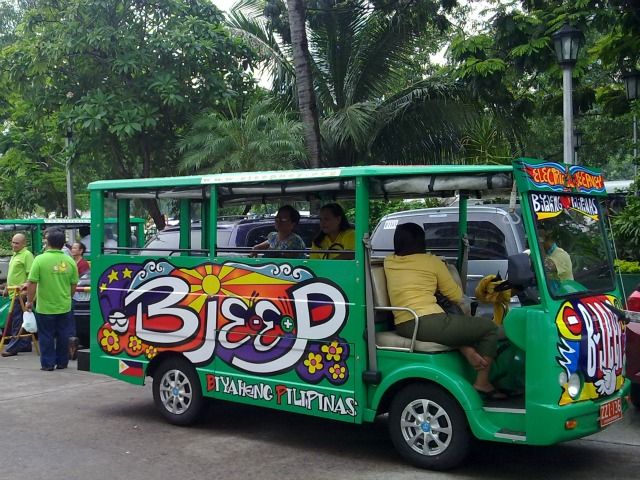 The Manila Commuter Makati City E Jeepney Makati Green Route