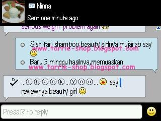Testimoni Beauty Girl Shampoo Pemanjang Rambut