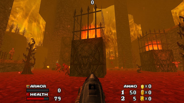 Doom - The Golden Souls 2 - Some maps are even more hellish than classic doom