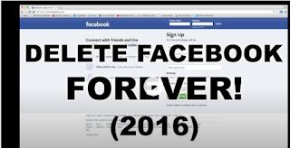 Facebook Id Permanent Delete