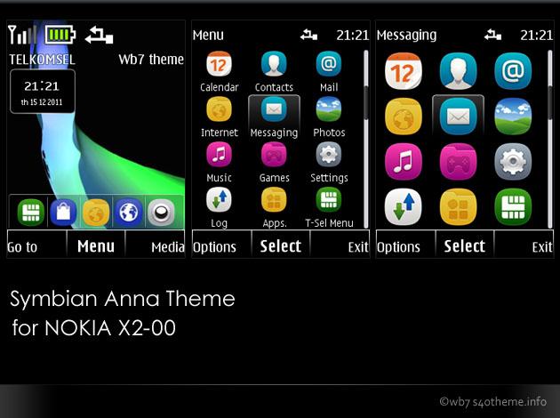 Free nokia x2 mobile themes download
