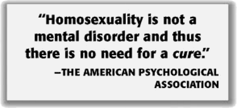 homosexuality is not a psychological disorder