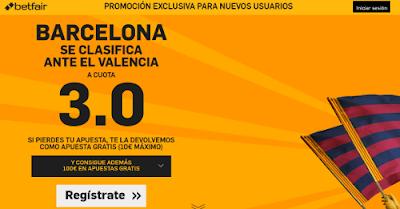 betfair Barcelona se clasifica final cuota 3 Copa 10 febrero