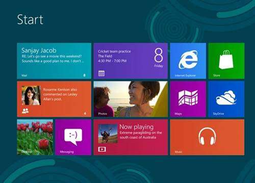 Windows 8 virá com interface mais limpa e moderna
