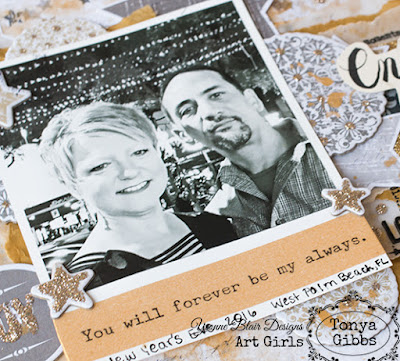 My Forever Always Layout By Tonya Gibbs For Yvonne Blair