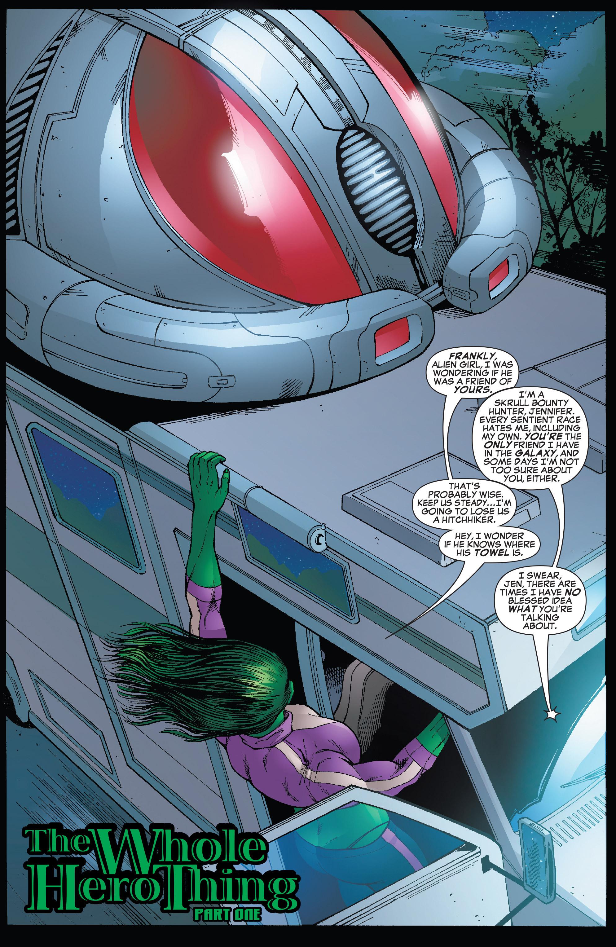 Read online She-Hulk (2005) comic -  Issue #25 - 8