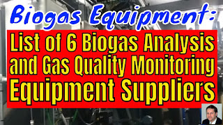6 Biogas Analysis and Gas Quality Monitoring Equipment Suppliers