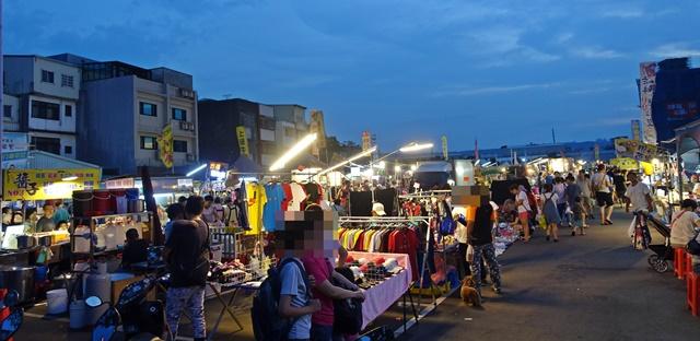 龍潭觀光夜市素食~桃園美食、南桃園最大觀光夜市