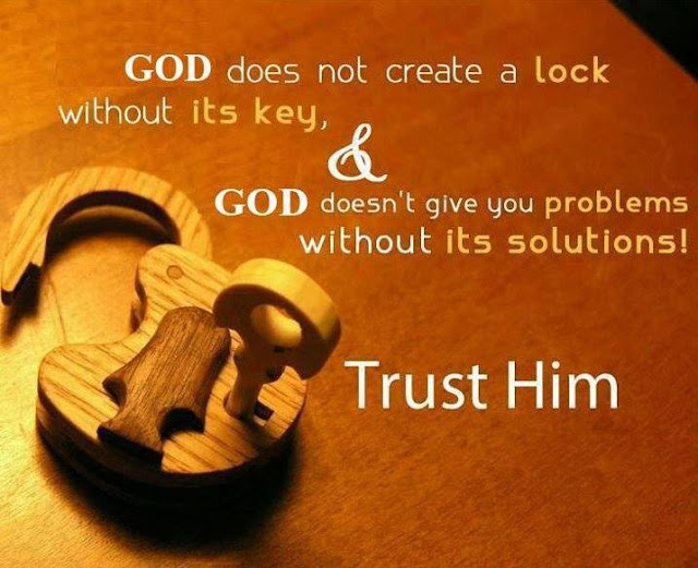 Believe in God ! Trust in Relationship