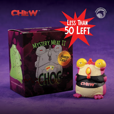 CHEW Fanboy Chog Mini Vinyl Figure by Skelton Crew Studio