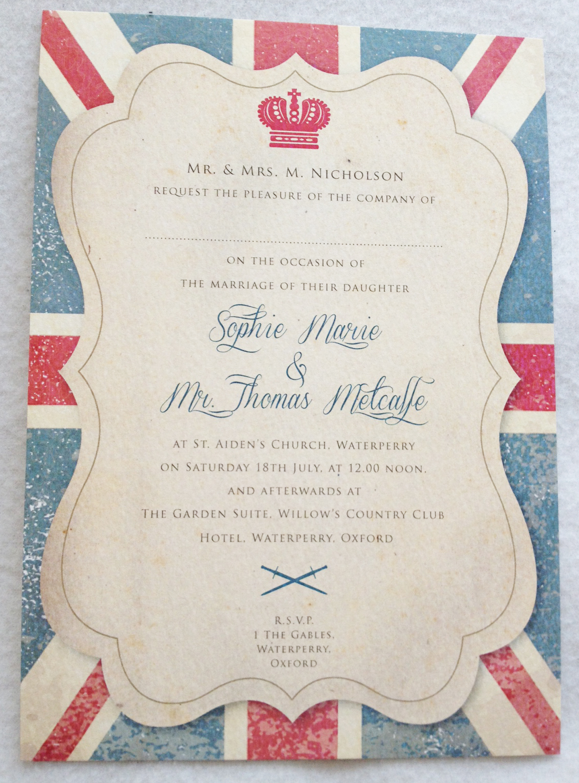 Fine Royal Themed Wedding Invitations Images - The Wedding Ideas ...