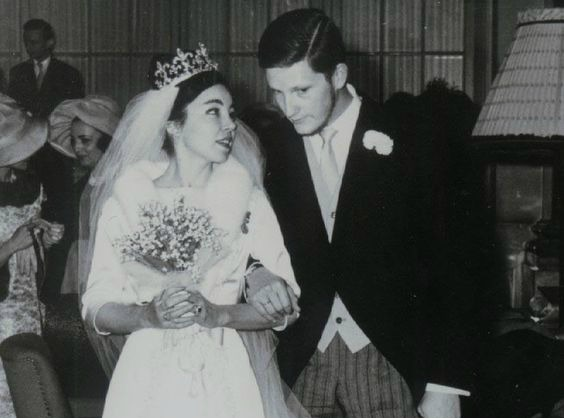 La boda de Margarita Gómez-Acebo y Simeón de Bulgaria