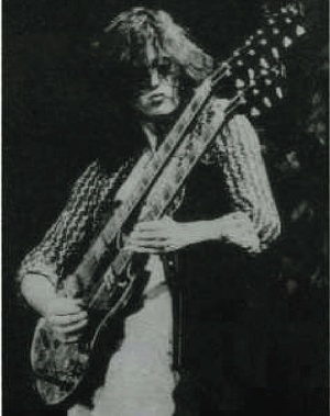 Photo of Jimmy Page in Hammer of the Gods: The Led Zeppelin Saga Download PDF
