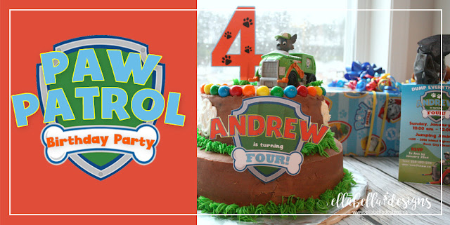 Paw Patrol Birthday Party Ideas by Ellabella Designs