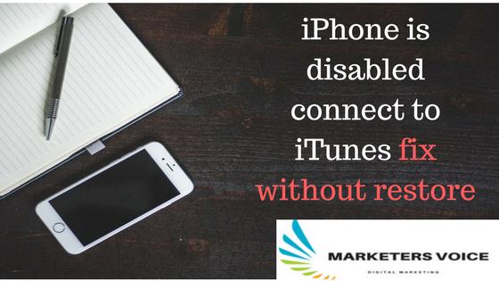 ازالة تم ايقاف iPhone الاتصال ب iTunes بدون عمل ريستور