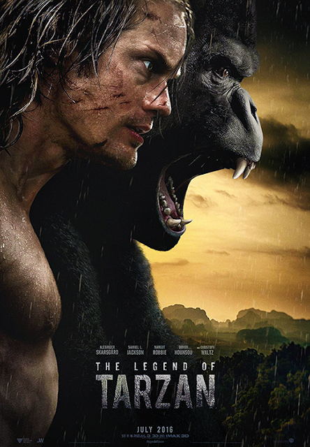Poster Legend Of Tarzan