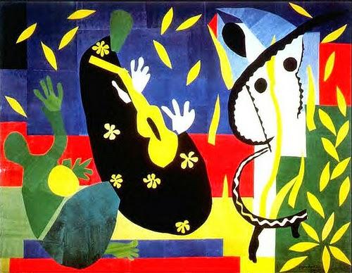 Os Sofrimentos do Rei - Pinturas de Matisse, Henri - (Fauvismo) Francês