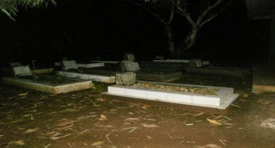kisah seorang penjaga kuburan
