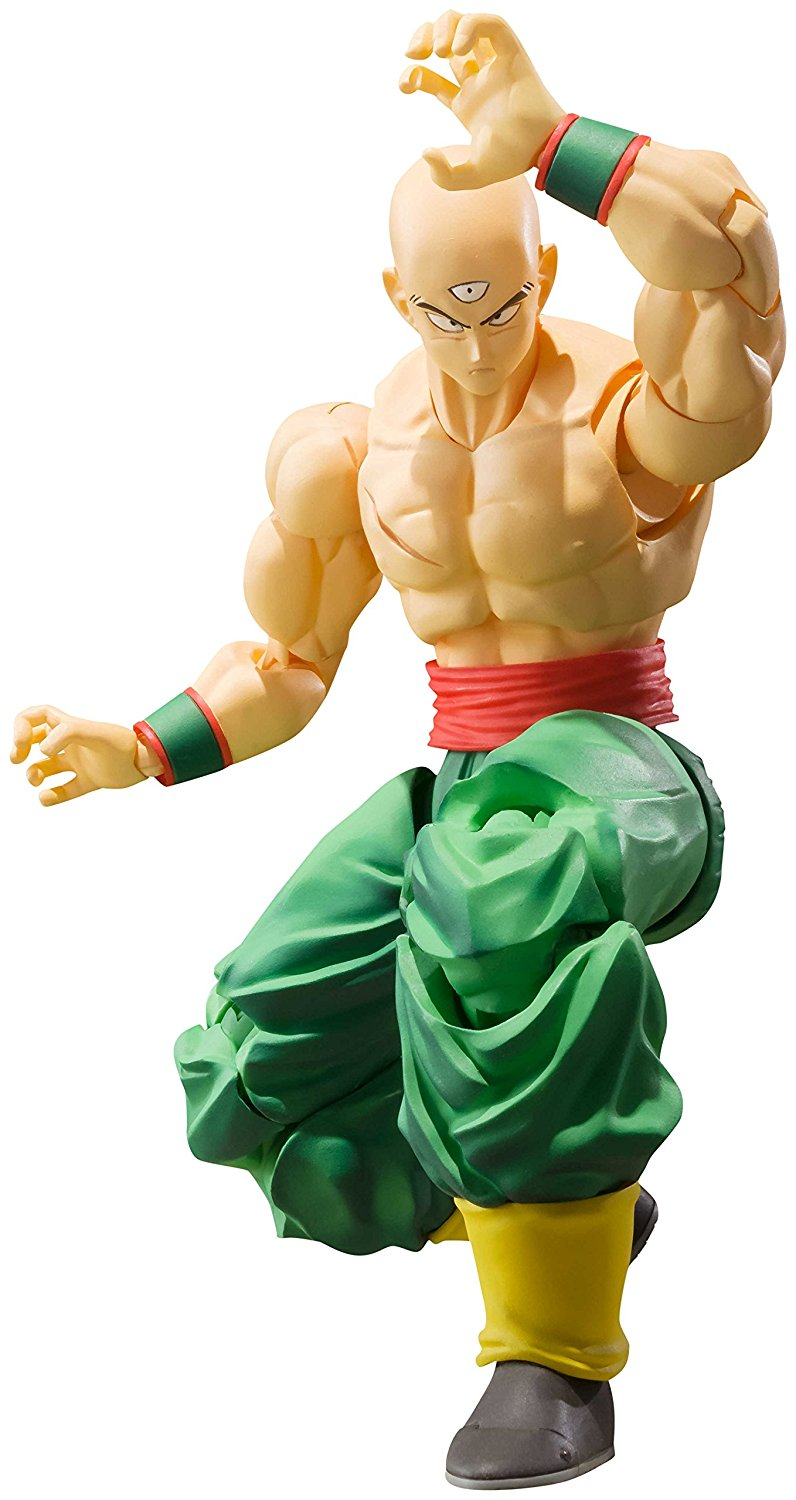 Dragon Ball Toys : Toy review s h figuarts tien shinhan with chao tzu
