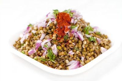 HEALTHY SPROUTS CHAT RECIPE