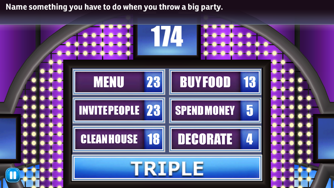 Family Feud and Friends Game Answers Revealed!: Name something you