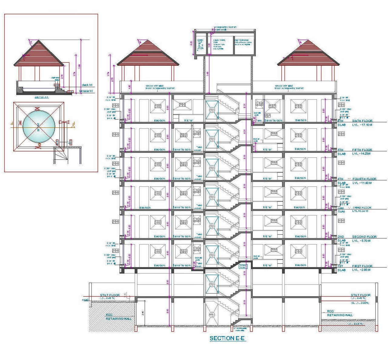 Architectural Portfolio: Feather Castle- A Housing At