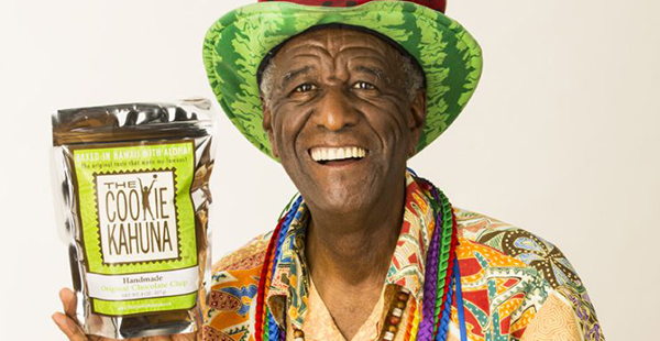 Wally Amos, founder of Cookie Kahuna