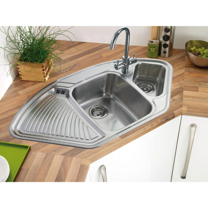 Five Corners Kitchen: 15 Cool Corner Kitchen Sink Designs
